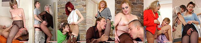 Horny Moms In Nylon